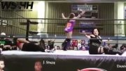 Well Damn: Shorty Got German Suplexed On The Chair!