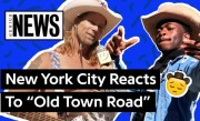 "New York City Reacts To Lil Nas X's ""Old Town Road"" 