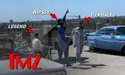 First Look at Nipsey Hussle's Last Music Video with DJ Khaled, John Legend | TMZ