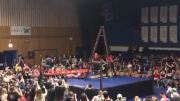 Whoa: Wrestler Destroys His Opponent With Move Off The Ladder!