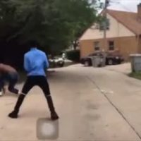 He Wasn't Ready: Dude Gets Knocked Out After Giving His Gun To A Friend So He Could Fight!