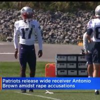 It Was All Good Just A Week Ago: The New England Patriots Release Antonio Brown Amidst Rape Accusations!
