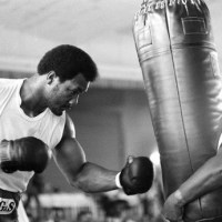 George Foreman Hitting Heavy Bag ALL