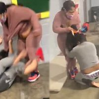 Don't Mess With People's Kids: Chick Gets The Piss Beat Out Her For Disrespecting Another Woman's Kids!