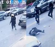 Horrible: A Man Gets Gunned Down By His Opps In Broad Daylight!