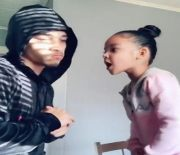 She Bodied Him: Lil Girl Hit Her Father With Some Notorious Rap Battle Bars!