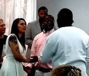 "Wasn't Having It: Pops Pulls Up And Crashes His Sons Wedding! ""I Know You're Not Serious Man"""