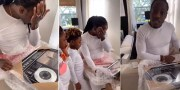 Ace Hood Brought To Tears After His Wife Gifted Him Custom Plaques To Celebrate His Independent Success!