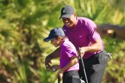 Dope: Tiger Woods Son Is Already Looking Like A Tiger 2.0!