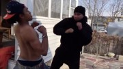 Why You Shouldn't Fight While Smoking!