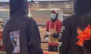 SMH: Guy Slaps A Popeye's Employee Because He Didn't Give Him Enough BBQ Sauce!