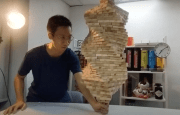 Putting 1,002 pieces of Jenga on 1 (WR) (1k sub celebration video)