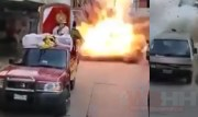 "Firework ""Show"" Gone Wrong: Buddy In A Wheelchair Had Firework Duties… Went Out Bad! (Severely Burned)"