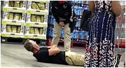 Grown ass man throwing a tantrum at Costco because he was told to wear a mask