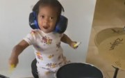 Skills: Baby Girl Is Too Nice On The Drums!