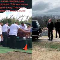 [:en]The Devil Couldn't Wait: Casket Smashes Into The Ground After Suffering Equipment Failure While It Was Lowering Into The Grave![:]