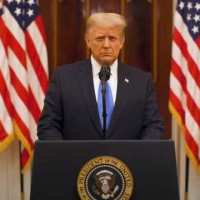 [:en]IN FULL: President Trump makes farewell address to the nation[:de]Trump: New administration 'is gonna need luck'[:]