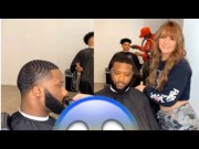 Would Ya'll Let This Woman Line You Up? Dallas Female Barber Is Cutting Hair… Line Up Is Crisp!