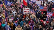 Pro-Trump Supporters Rally Near White House Ahead Of Electoral College Vote!