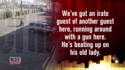 Sniper Stops Armed Father Who Took Baby Hostage
