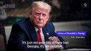 President Trump Urges Georgia Election Officials To Recalculate Votes & Flip The State To Him!