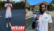 """""""Count Out Loud"""" Meek Mill Lost A Tennis Match To Billionaire, Michael Ruben… So He Had Meek Do 300 Bunny Hops!"""