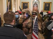"""Man Who Wore Horns During U.S. Capitol Riot Turns On Donald Trump! """"I'm Disappointed, He Was Not Honorable"""""""