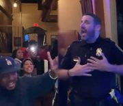 He Secured That Cookout Invite: Atlanta Cop Was On His Jeezy & Kayne Sh*t At This Party…Had The Whole Party Turnt!