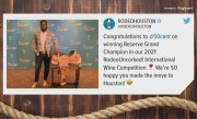 50 Cent wins wine prize from RodeoHouston