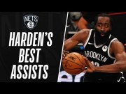 James Harden's BEST Assists for Brooklyn! 🔥