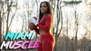 I'm The Highest Paid Female American Football Player | MIAMI MUSCLE