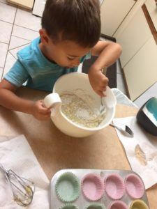 How Children Learn from parents while baking