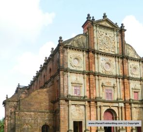 The Grand Facade of Bom Jesus Basilica