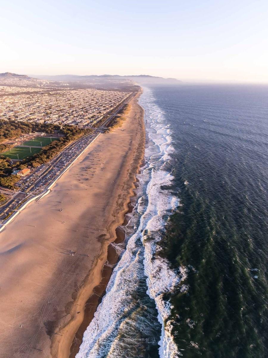 Ocean Beach Aerial