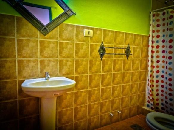 Our Bathroom in La Dolce Vita