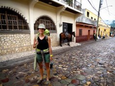 Travel Photo: Honduras - Jess Backpacking Through Copan Ruinas