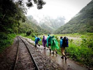 Salkantay Trek - Our Hikers From Hidroelectrica to Aguas Calientes
