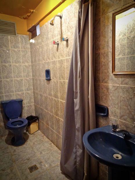 Bathroom of the Koala Den in Potosi