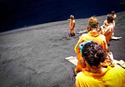 Photo Travel: Nicaragua - Volcano Boarding on Cerro Negro in Leon
