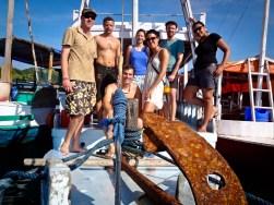 Patrick, Jens, Barbara, Jess, Peer, Fayme & Victor