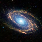 NASA Spitzer Space Telescope - Caltech Infrared Spiral Galaxy Messier 81 - NASA Spitzer Space Telescope