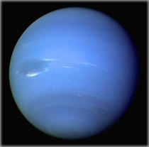 Neptune from Voyager 2. Photo: Wikimedia Commons.