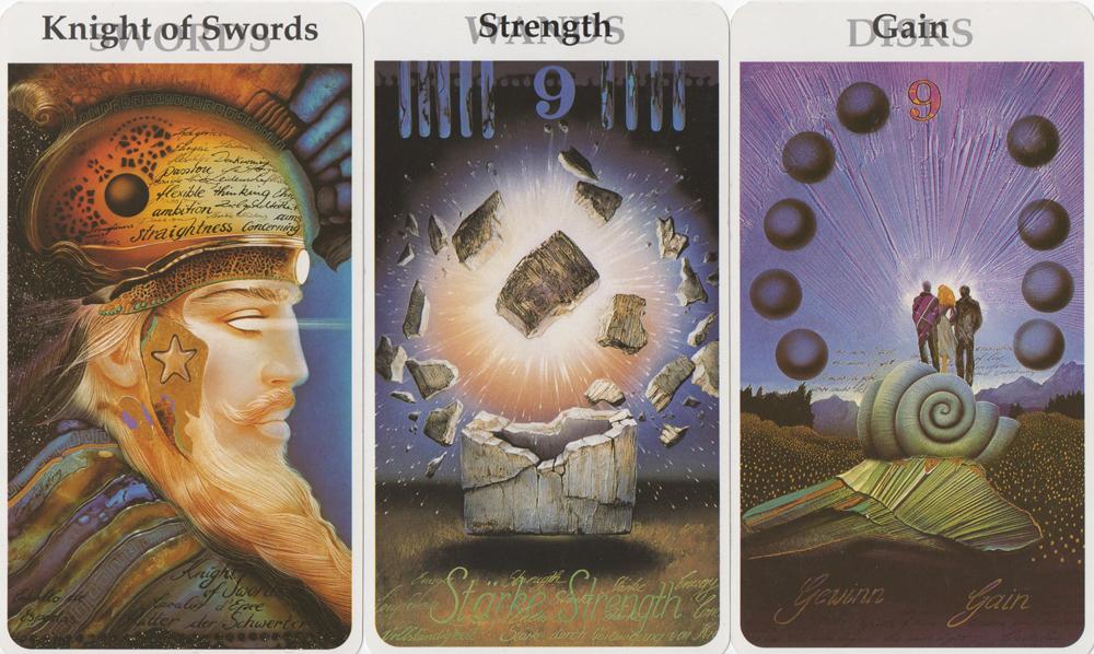 Knight Of Wands Tarot Card