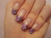 French manicure nail art designs 04 | Indian Makeup and ...