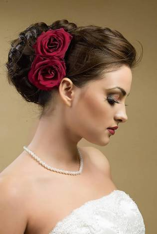Indian bridal hairstyles 71
