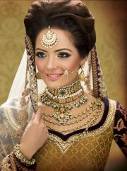 romantic indian bridal hairstyles