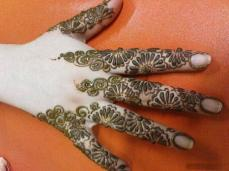 Simple mehendi designs 06