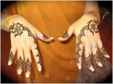 Simple mehendi designs 08