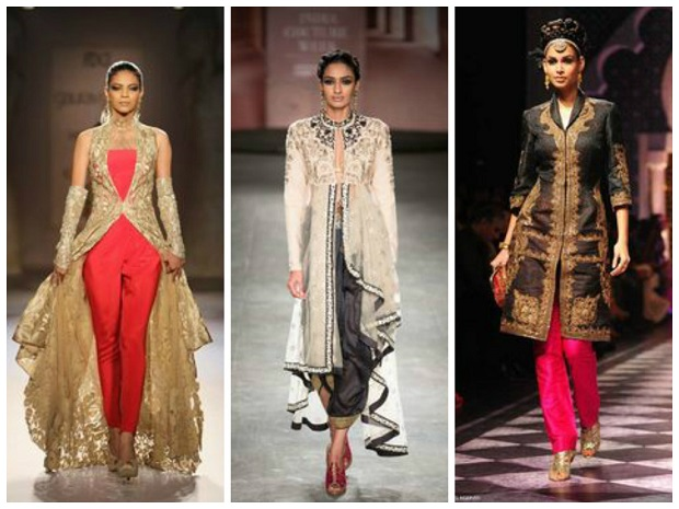 10 Fabulous Indo-Western Ideas For Wedding Outfits