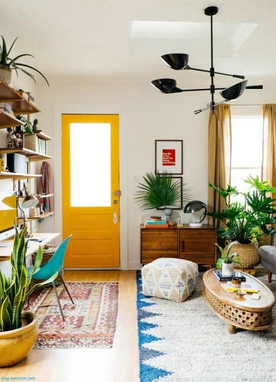 kolorowe drzwi